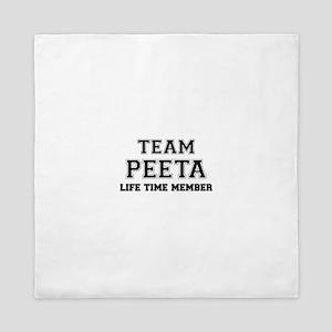 Team PEETA, life time member Queen Duvet