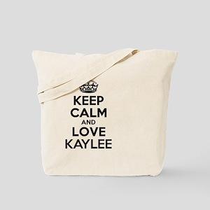 Keep Calm and Love KAYLEE Tote Bag