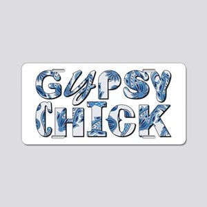 GYPSY CHICK Aluminum License Plate