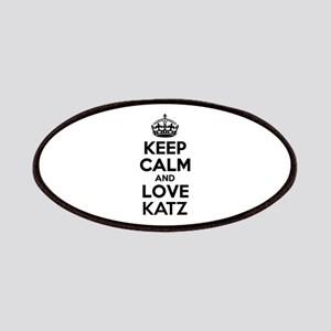 Keep Calm and Love KATZ Patch