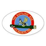 USS Balao (SS 285) Oval Sticker