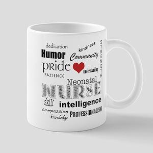Neonatal Nurse Pride-Red Heart Mugs