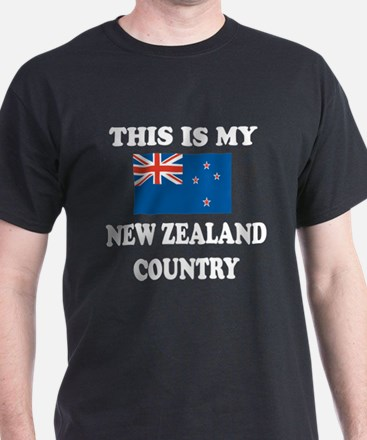 This Is My New Zealand Country T-Shirt