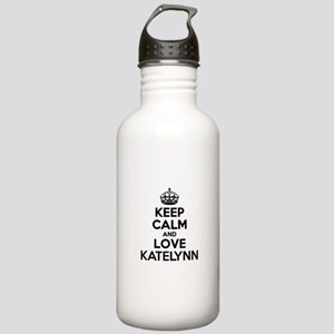 Keep Calm and Love KAT Stainless Water Bottle 1.0L