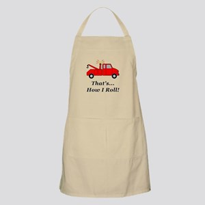 Tow Truck How I Roll Apron