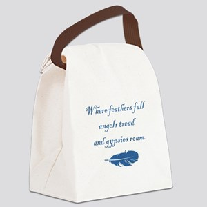 WHERE... Canvas Lunch Bag
