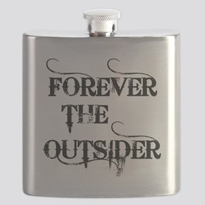 FOREVER THE OUTSIDER Flask