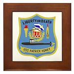 USS Patrick Henry (SSBN 599) Framed Tile