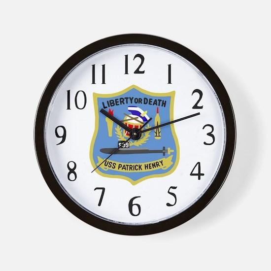 USS Patrick Henry (SSBN 599) Wall Clock