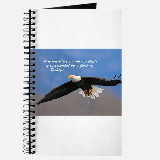 Soar Like an Eagle… if you Can Journal