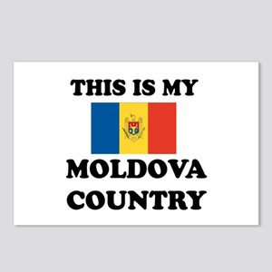 This Is My Moldova Countr Postcards (Package of 8)