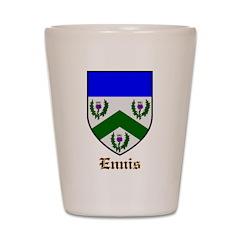 Ennis Shot Glass