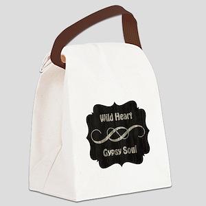WILD HEART Canvas Lunch Bag