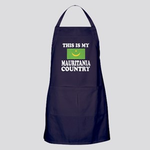This Is My Mauritania Country Apron (dark)