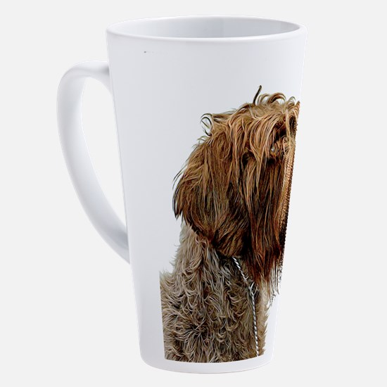 Wirehaired Pointing Griffon 17 oz Latte Mug