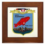 USS Barbero (SSG 317) Framed Tile