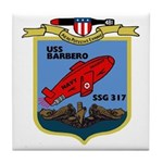 USS Barbero (SSG 317) Tile Coaster
