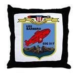 USS Barbero (SSG 317) Throw Pillow