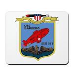 USS Barbero (SSG 317) Mousepad
