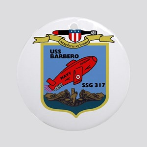 USS Barbero (SSG 317) Ornament (Round)