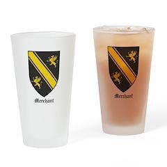 Merchant Drinking Glass