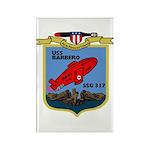 USS Barbero (SSG 317) Rectangle Magnet (100 pack)