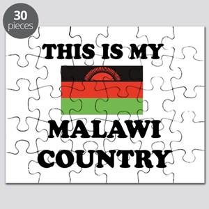 This Is My Malawi Country Puzzle