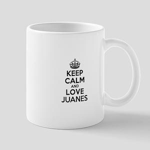 Keep Calm and Love JUANES Mugs