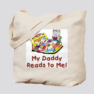 Daddy Reads Tote Bag
