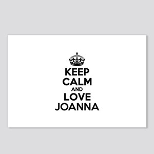 Keep Calm and Love JOANNA Postcards (Package of 8)