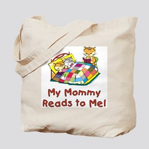 Mommy Reads Tote Bag