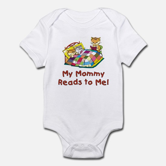 Mommy Reads Infant Bodysuit