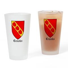 Crooks Drinking Glass