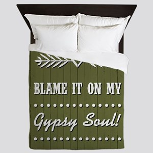 BLAME IT ON MY... Queen Duvet