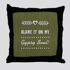 BLAME IT ON MY... Throw Pillow