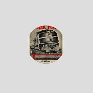 Vintage poster - New Haven Railroad Mini Button