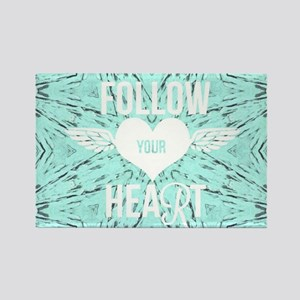 follow your heart positive Magnets