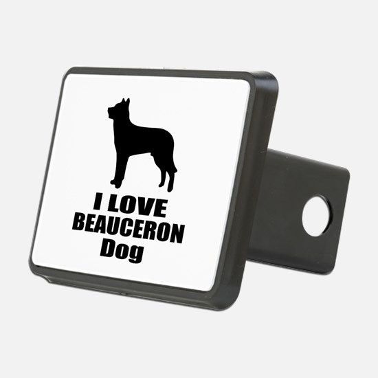 I Love Beauceron Dog Hitch Cover
