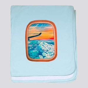 Above The Clouds baby blanket
