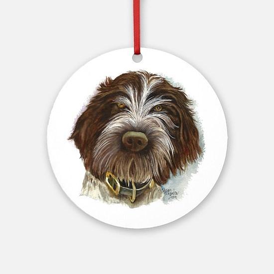 Wpg Puppy Round Ornament