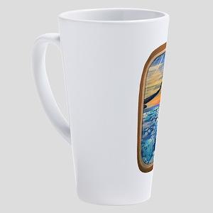 Above The Clouds 17 oz Latte Mug