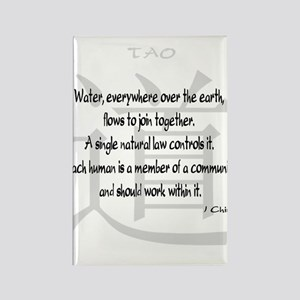 Tao I Ching Quote Rectangle Magnet