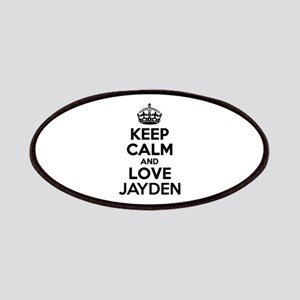 Keep Calm and Love JAYDEN Patch