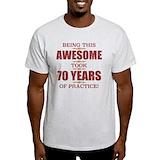 70th birthday men Light T-Shirt