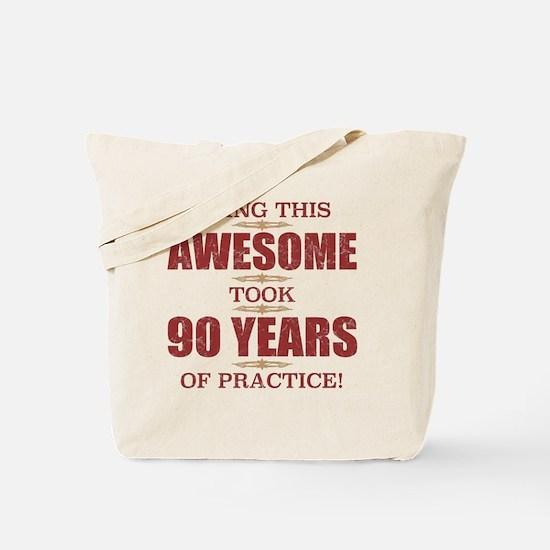 Cute 90 year old birthday Tote Bag