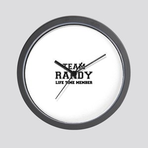 Team RANDY, life time member Wall Clock