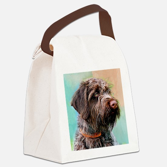WPG Puppy 2 Canvas Lunch Bag