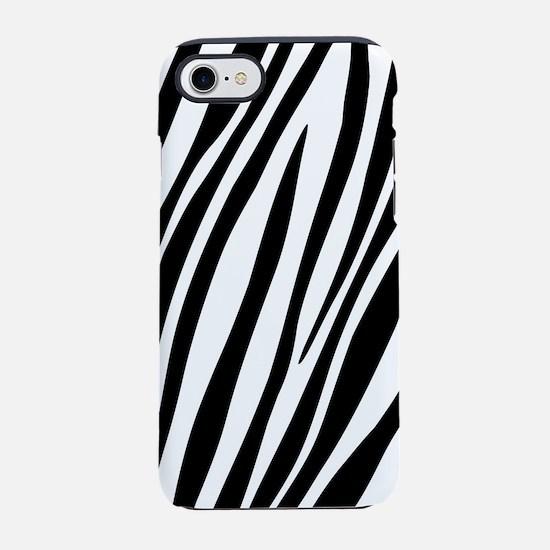 Zebra Print iPhone 8/7 Tough Case