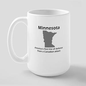 Canadian Attack Large Mug