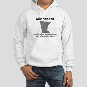 Canadian Attack Hooded Sweatshirt